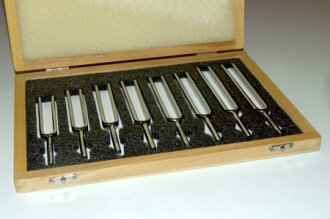 Tuning Forks - Set of 8