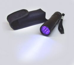 Hi Power UV Flashlight and Holder
