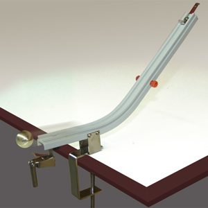Marble Projectile & Collision Ramp