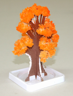 Crystal Growing Tree