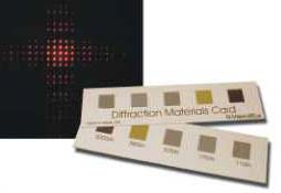 Diffraction Materials Card
