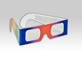 Diffraction Grating Glasses